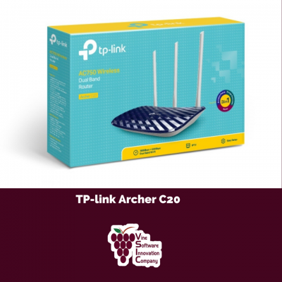 Archer C20 AC750 Wireless Dual Band Router (5G)